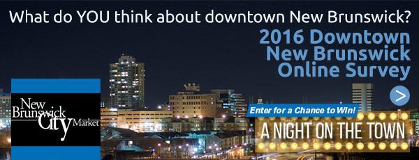 2016 Downtown New Brunswick Online Survey