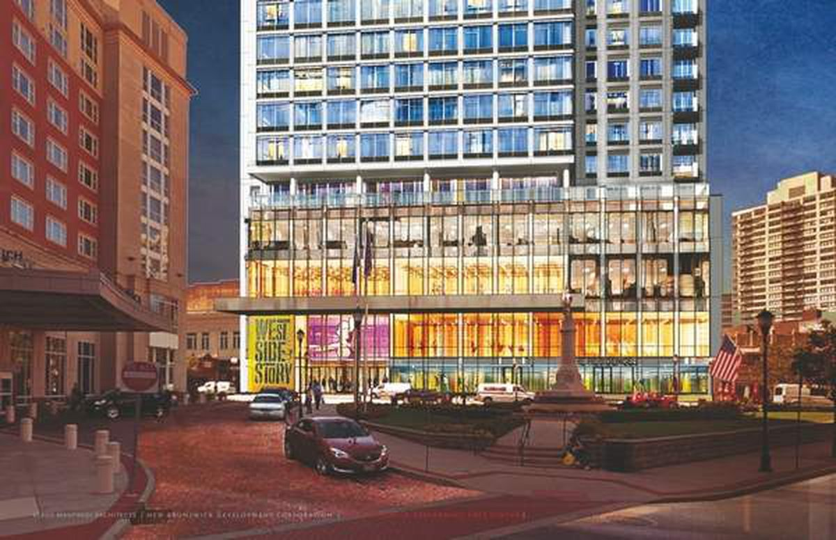 A rendering of the New Brunswick Performing Arts Center's main retail floors. - (Photo / NEW BRUNSWICK DEVELOPMENT CORP.)