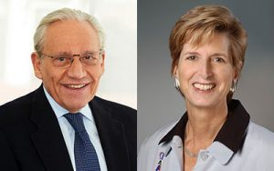 AN EVENING WITH BOB WOODWARD—THE STATE OF THE AMERICAN PRESIDENCY MODERATED BY GOVERNOR CHRISTINE TODD WHITMAN