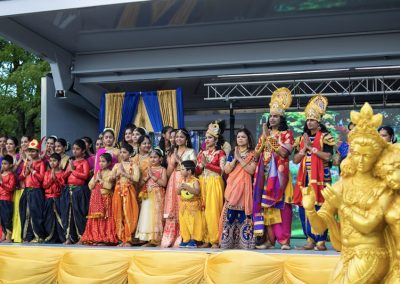Scenes from The Indo-American Festival