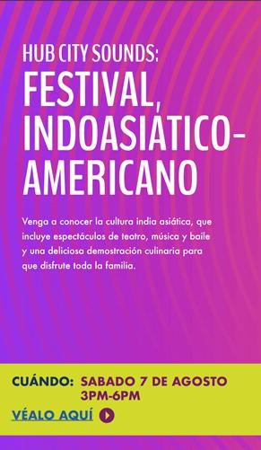 2021 Indo-American Festival - August 7, 2021 - 3pm - 6pm
